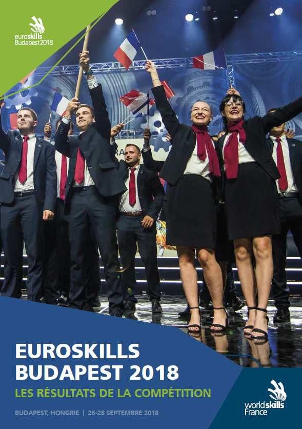L'équipe de France des métiers à Budapest