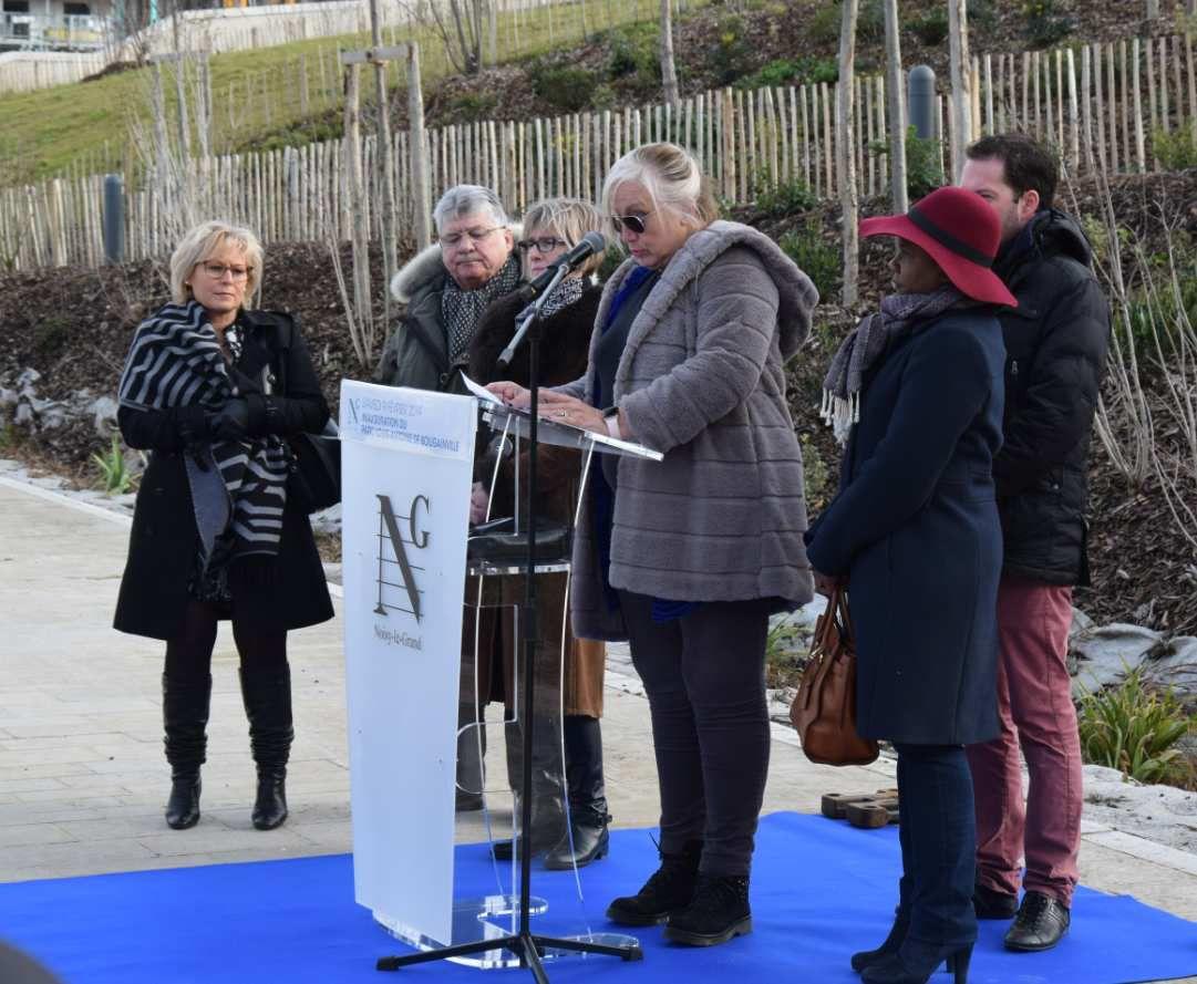 Inauguration du parc Louis Antoine de Bougainville le samedi 9 février 2019