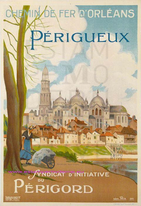 LA FRANCE TOURISTIQUE PAR LES AFFICHES ANCIENNES (2)...