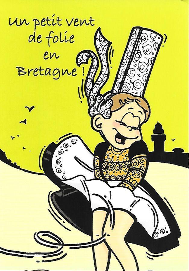 PROMENADE EN  BRETAGNE...  ILLUSTREE PAR DE VIEILLES AFFICHES !.