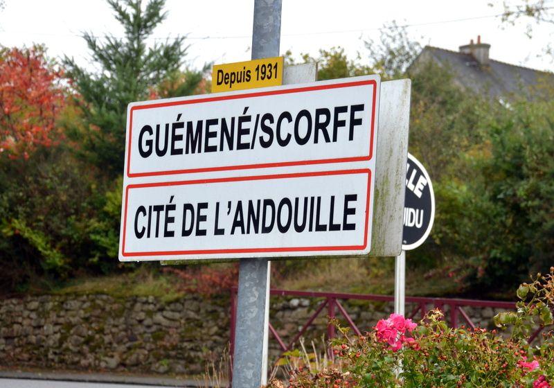 GUEMENE SUR SCORFF... CITE DE L'ANDOUILLE.