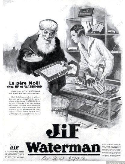 PUBLICITES : LES PERSONNAGES DE LEGENDES... PERE NOEL, SIRENES, LUTINS, FANTOMES...