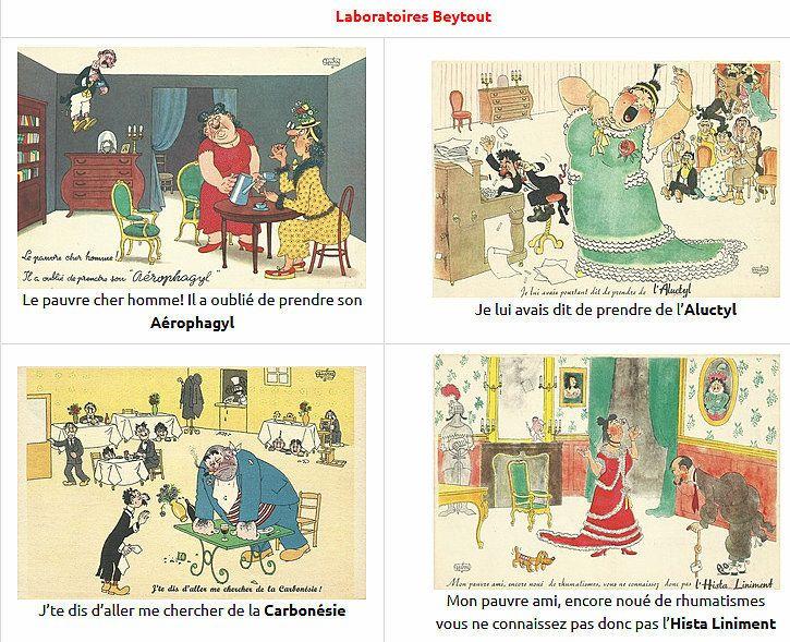 PUBLICITES :  LES CADEAUX DES LABORATOIRES PHARMACEUTIQUES (BD)