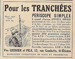 LA  PUBLICITE  ET  LA  GRANDE  GUERRE  14-18.