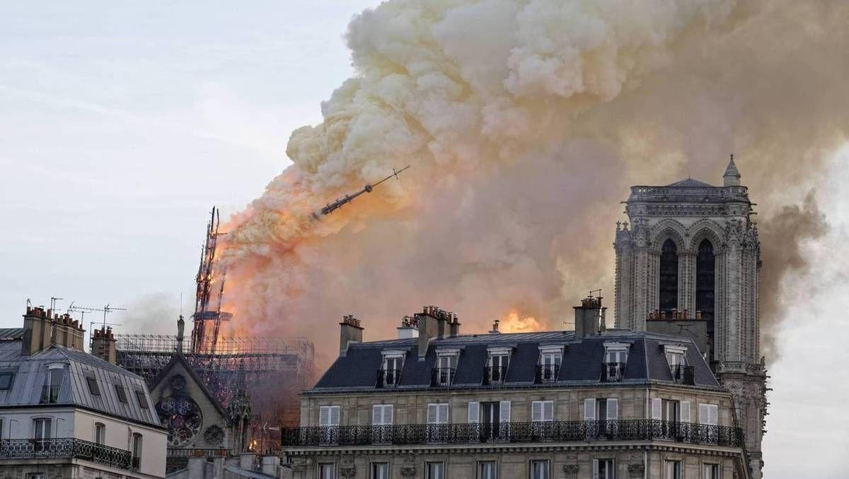 NOTRE DAME DE PARIS... RETOUR SUR UN REPORTAGE D'EMMANUELLE DU 15 AVRIL 2018.