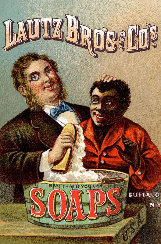 PUBLICITES  RACISTES   ET   IMAGES   DOUTEUSES...