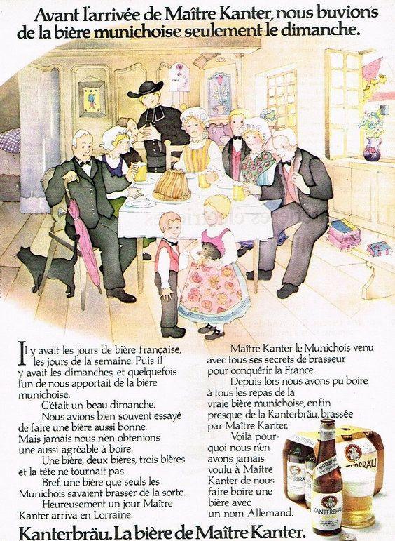 PUBLICITES... A LA DECOUVERTE DES PUBLICITES ANCIENNES DE BIERES.