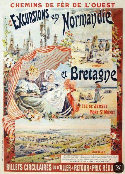 LA FRANCE TOURISTIQUE PAR LES AFFICHES ANCIENNES (3)