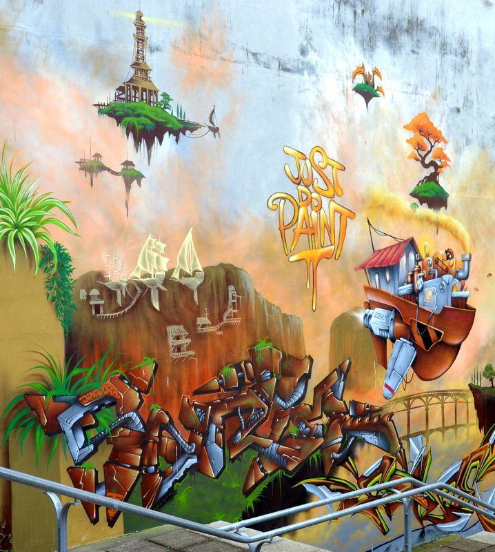 SAINT-BRIEUC : LES FESTIVALS DE GRAFF 2018 ET 2019.