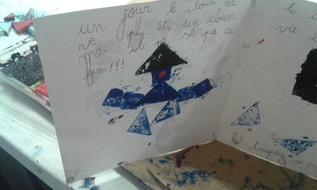Atelier tampon tangram 5-8 ans