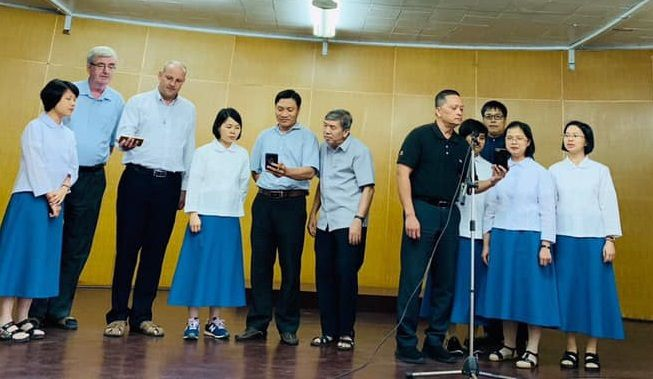Many Vietnamese sisters and fathers are at the service of the Taiwanese church.
