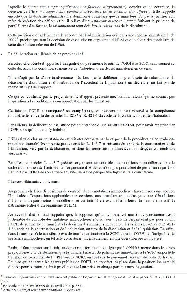 Illégalités de la privatisation d'ABH : demande d'un déféré préfectoral