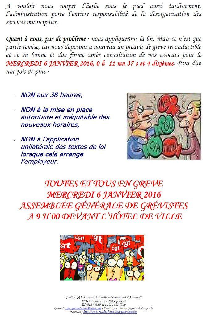 Mairie Argenteuil : a qu'il est  compliqué de faire grève !