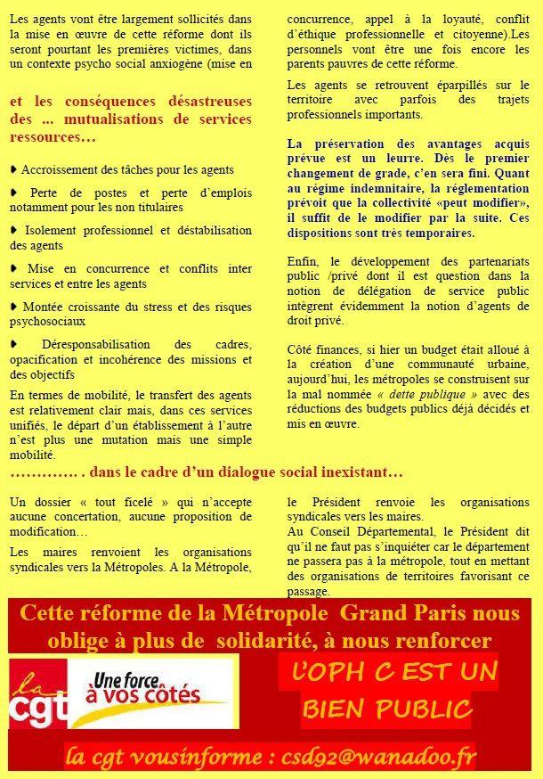 Métropole Grand Paris : Tous concernés !