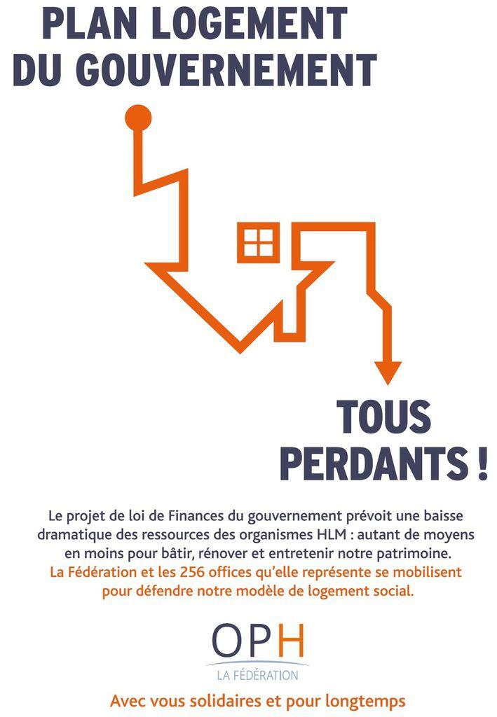 Val Parisis Habitat : Fermeture pour se mobiliser contre le plan logement du gouvernement