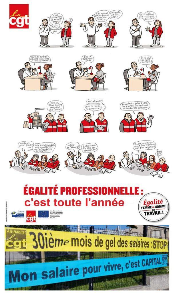 Respect de l'accord égalité professionnelle - Défendons les valeurs d'AB-Habitat