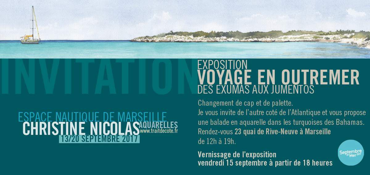 """VOYAGE EN OUTREMER"" - L'exposition 2017"
