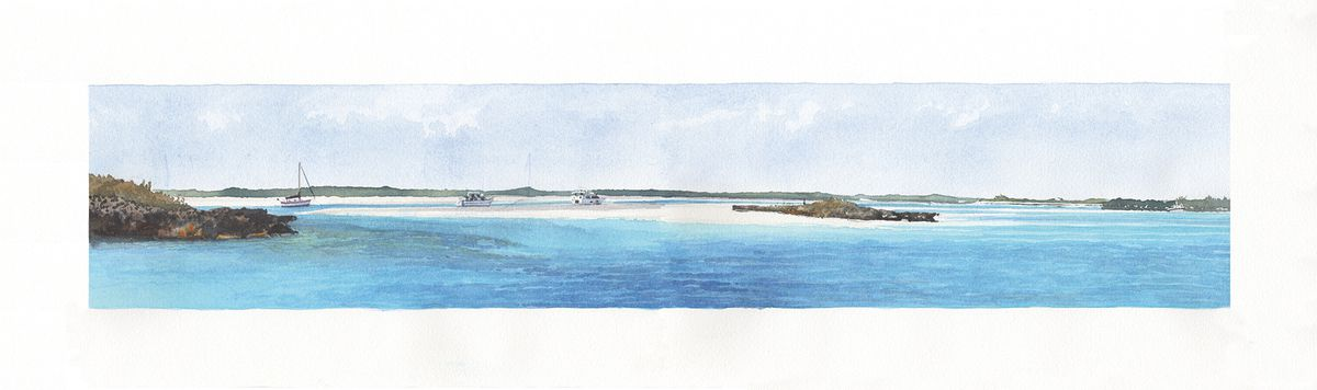 34.35 - Archipel des Exumas - Pipe Cay