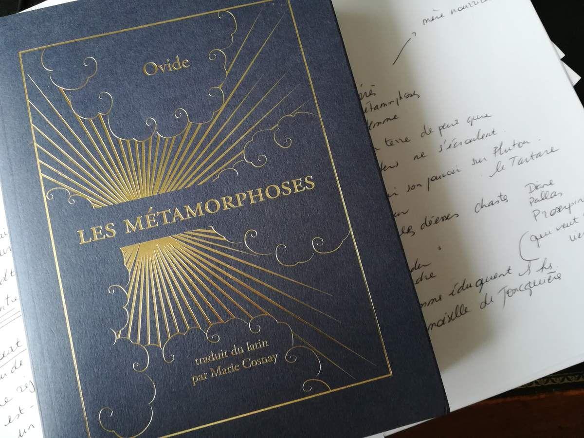 TextUelle II, 15 Les Métamorphoses d'Ovide traduites par Marie Cosnay