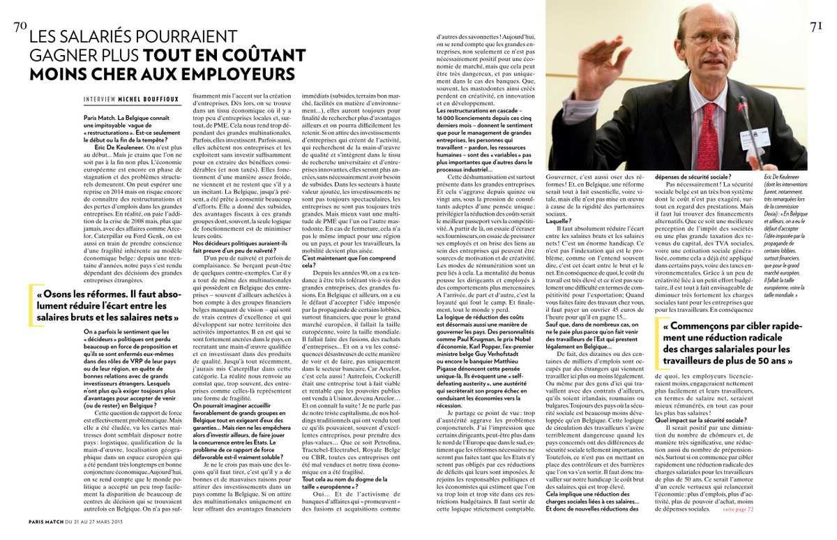 Publié dans Paris Match, le 21 mars 2013