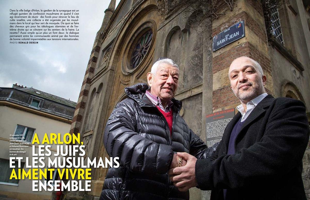 A Arlon, les juifs et les musulmans aiment vivre ensemble