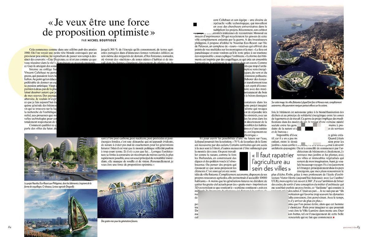 Vincent Callebaut, l'architecte qui invente demain