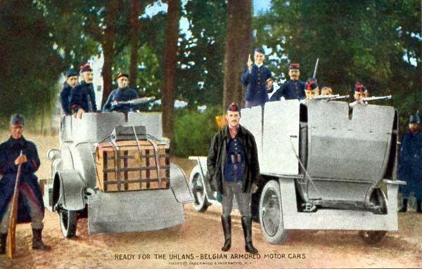 L'extraordinaire aventure des premiers blindés belges en Russie