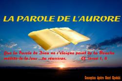 LA PAROLE DE L'AURORE par Apôtre Henri KPODAHI
