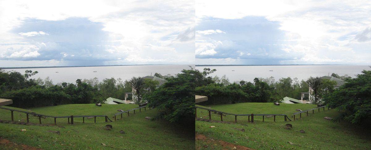 Cayenne, depuis le fort