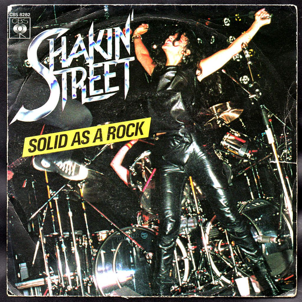 Shakin' Street - Solid As A Rock - 1980 - l'oreille cassée