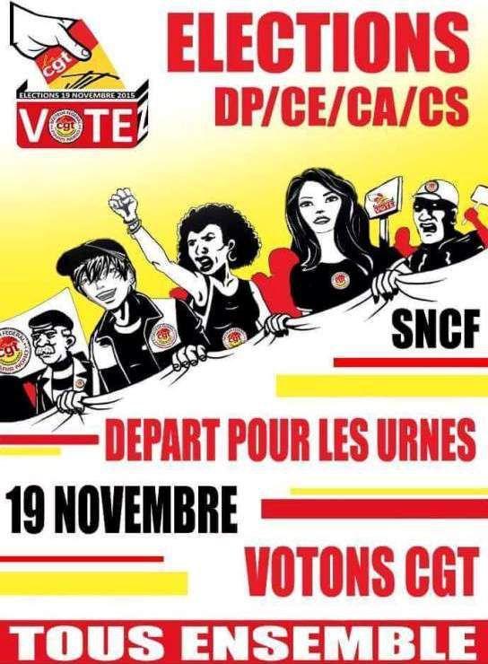 VOTES ET FAIS VOTER CGT !!!