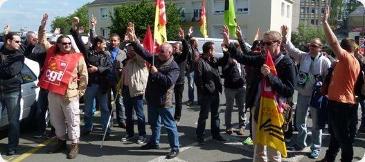 Grève reconductible : Info Luttes n°4 - Grève reconduit sur Le Mans  ... au 26 mai
