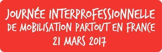 Appel CGT Cheminots pour le 21 mars ...
