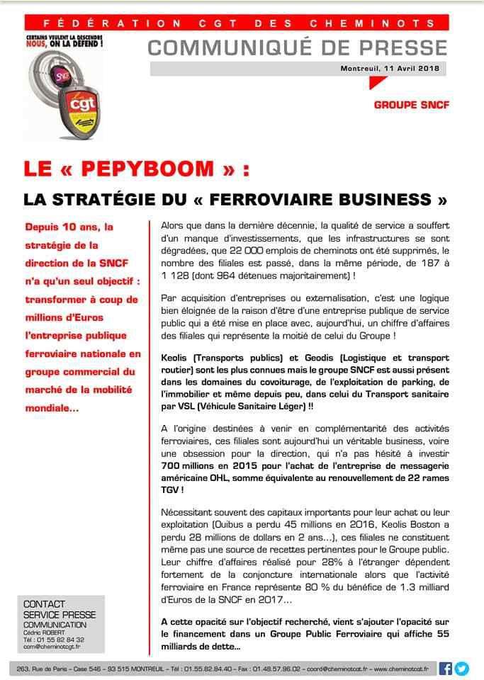 """""""Le PEPYBOOM"""": La stratégie du """"ferroviaire business"""""""