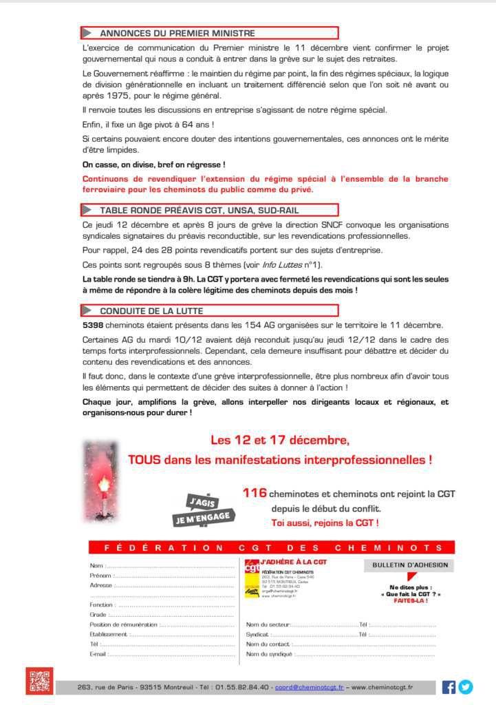 Info Lutte n°8