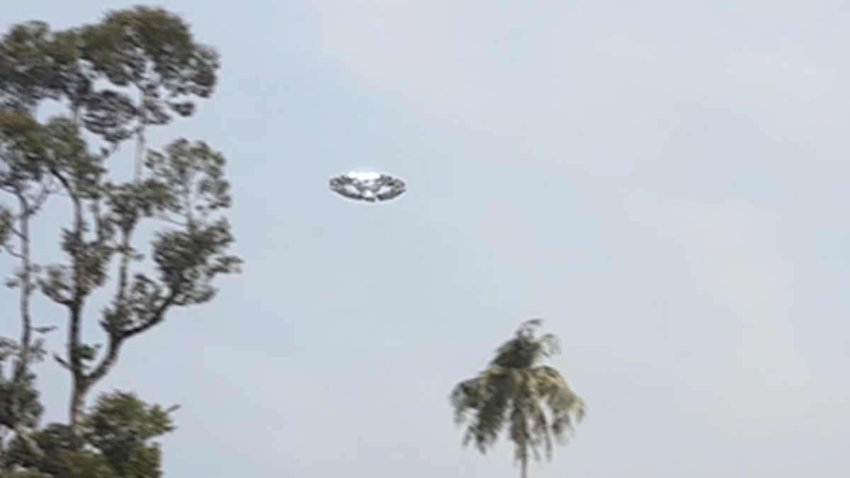 UFO sighting over ZUARI river - INDIA !!! March 2018