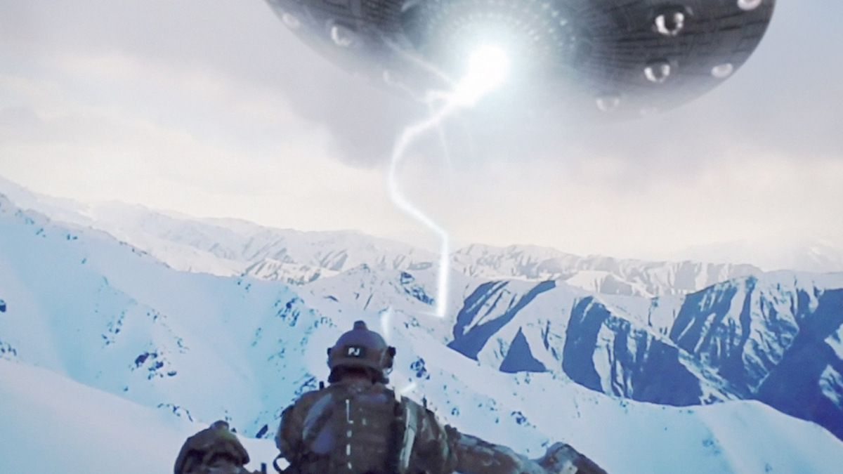 US special forces reported Huge UFO in moutains of AGHANISTAN !!! March 2018