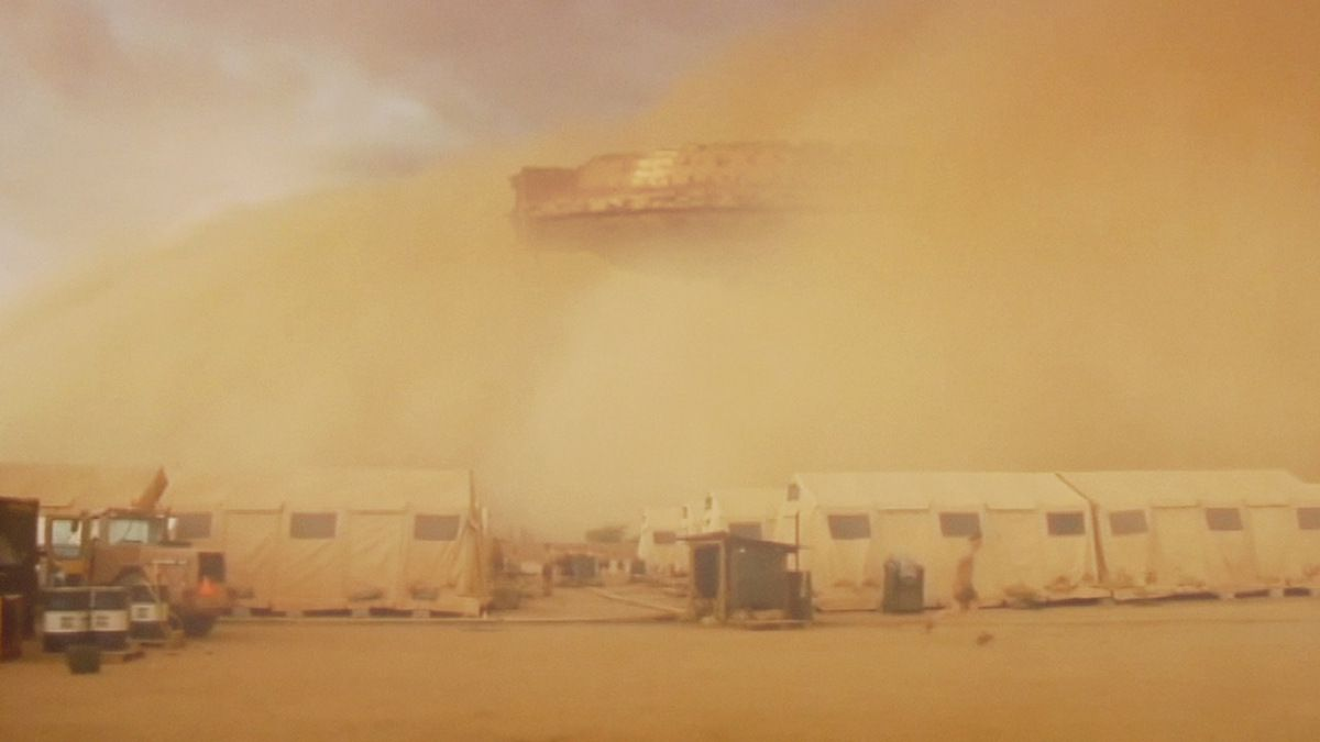 UFO spotted by French military forces during Desert Storm in MALI !!! March 2018