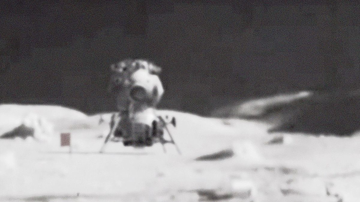 SOVIETS landed first on MOON in 1966 and reported UFOs !!! Leaked videos !