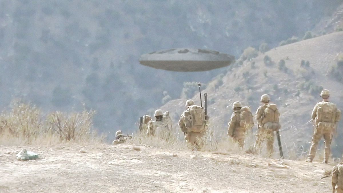 New UFO sighting reported by US Marines in Northern IRAQ !!! June 2018