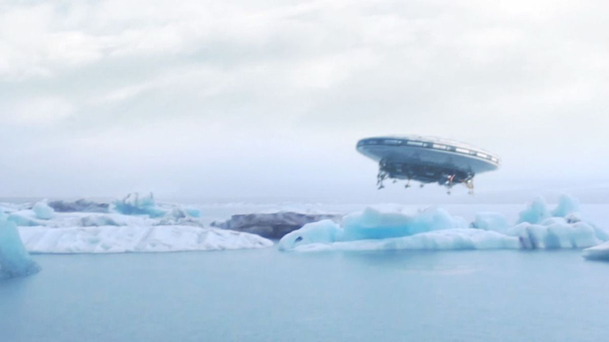 US Searchers filmed UFO landing in ARCTIC SEA !!! Sept 2018