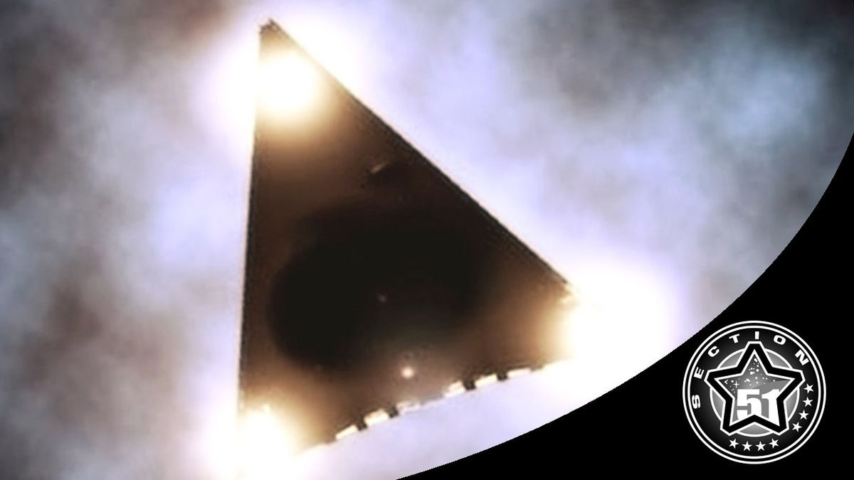 What Could Be The Black Triangle UFOs ?