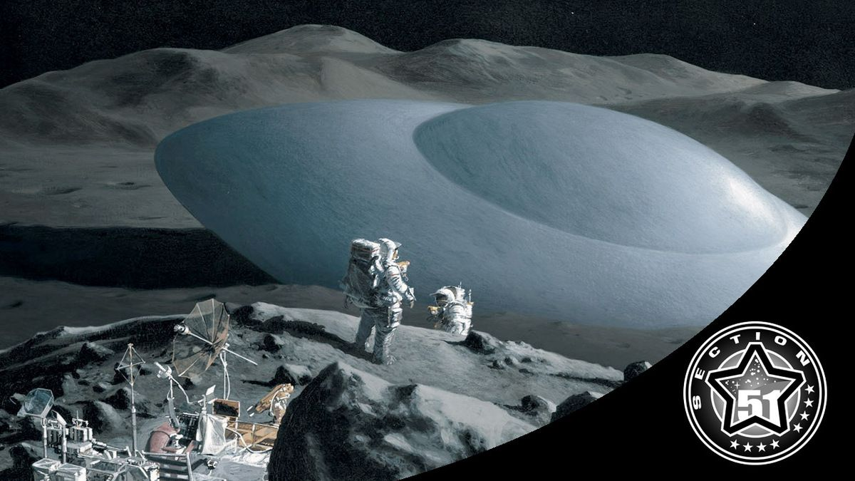 UFO Over The Moon During Apollo 15 Mission. Were Astronauts Warned To Leave The Moon ?