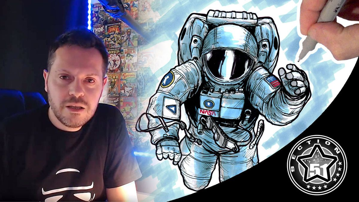 🔴 LIVE stream with DOZgeek on Section 51 (Drawing and Chilling)