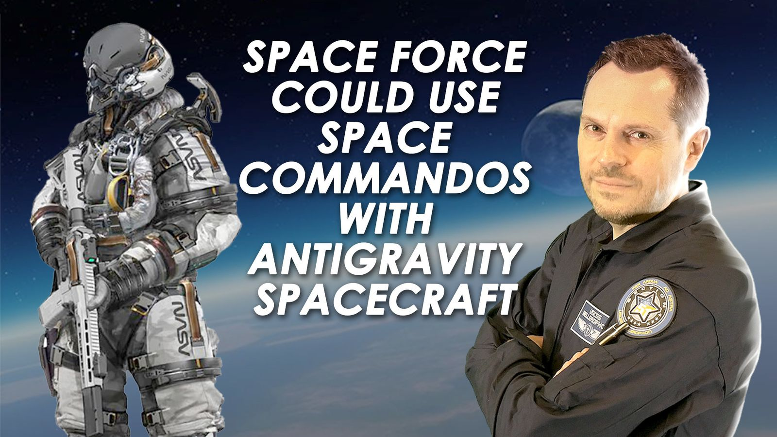 🚀 Space Force Could Use Space Commandos With Antigravity Spacecraft I 🔴 REPLAY LIVE