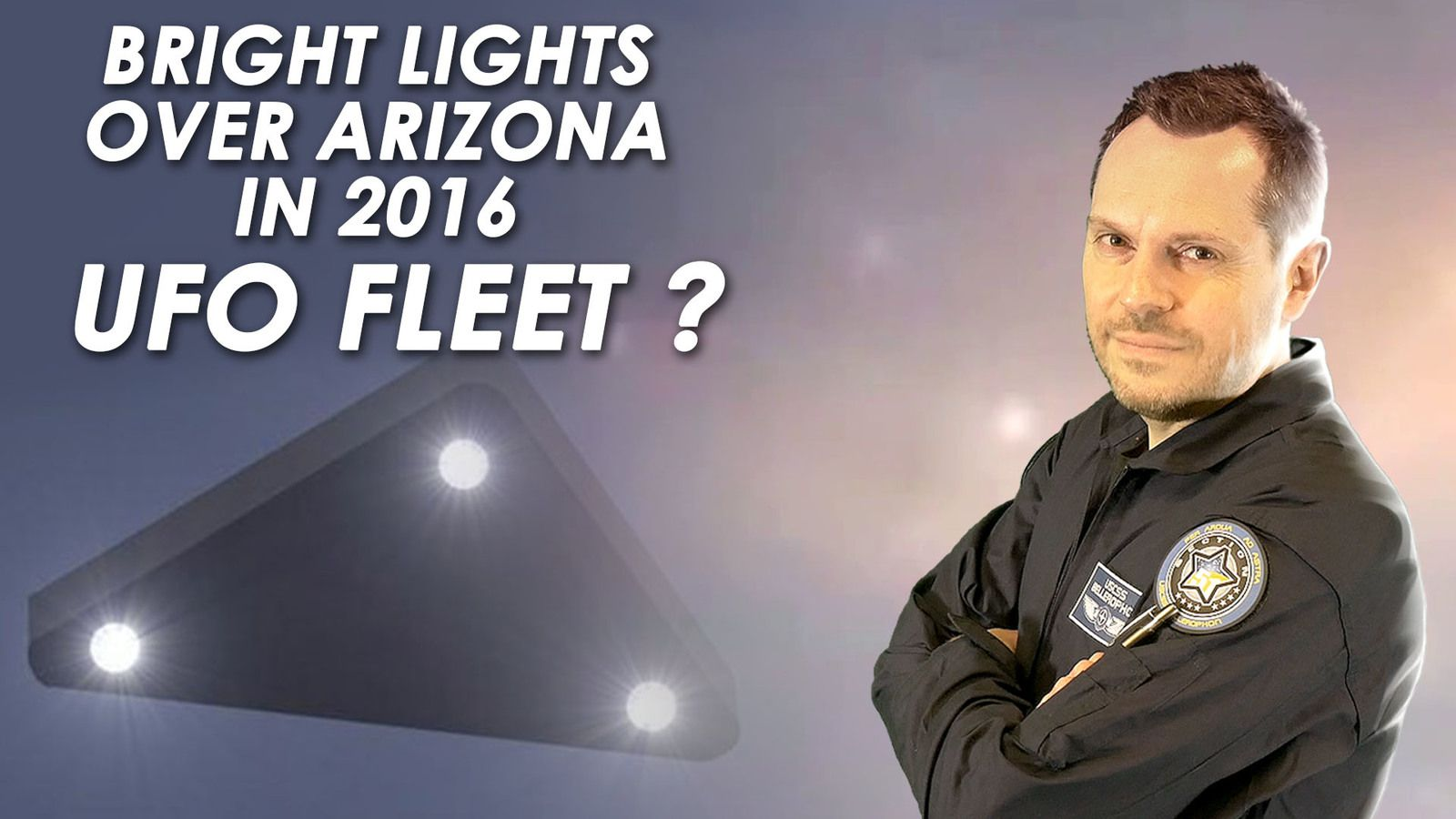 👽 Did UFO Lights Really Fly In Triangle Formation Over Arizona in 2016 ?
