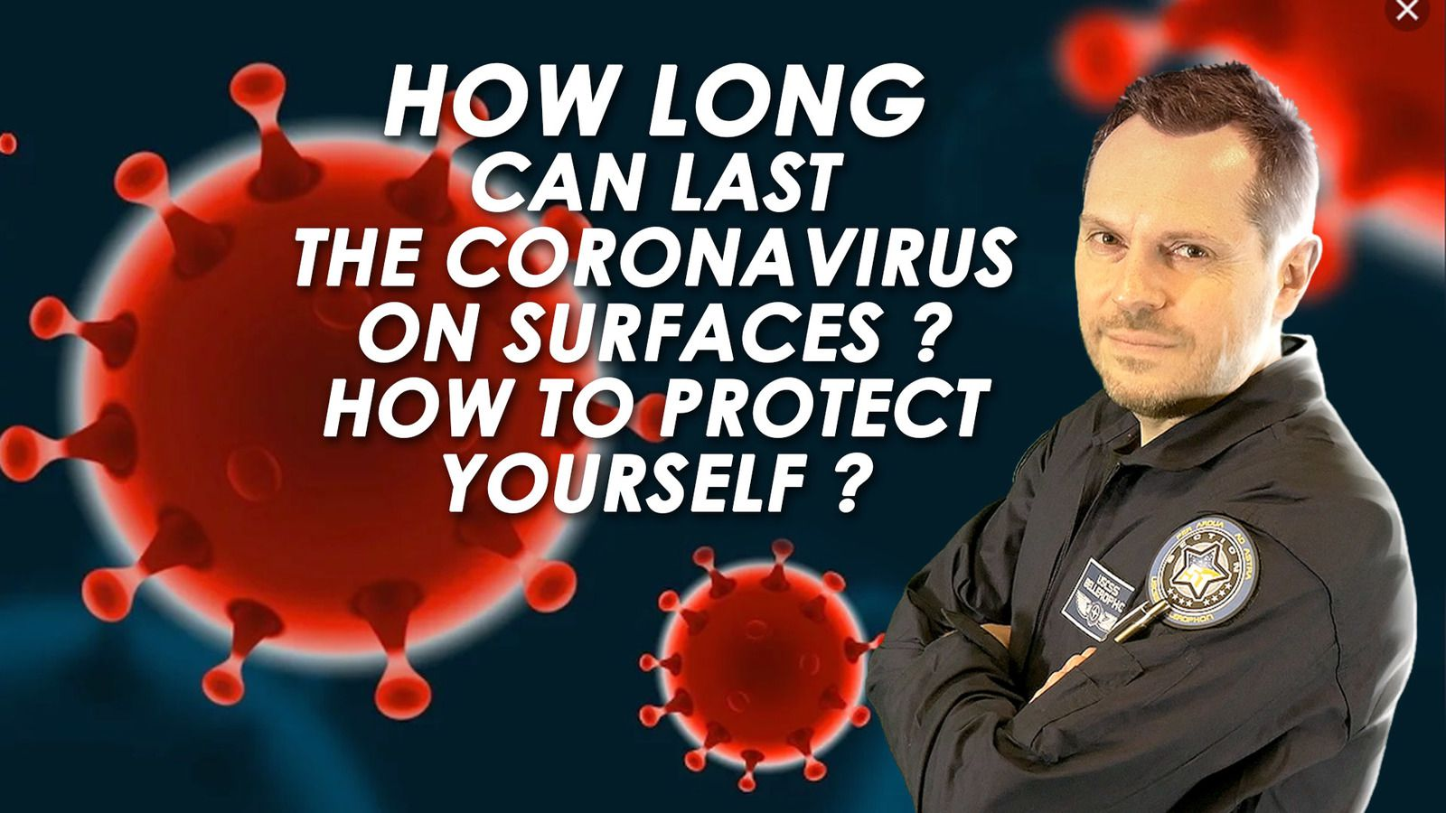 😷 How Long Can Last The Coronavirus On Surfaces and How To Protect Yourself ? 🧼
