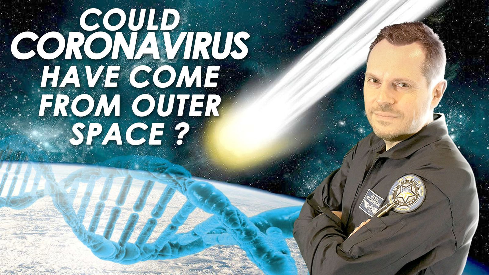 👽 Could Coronavirus Have Come From Outer Space ? The Panspermia Theory