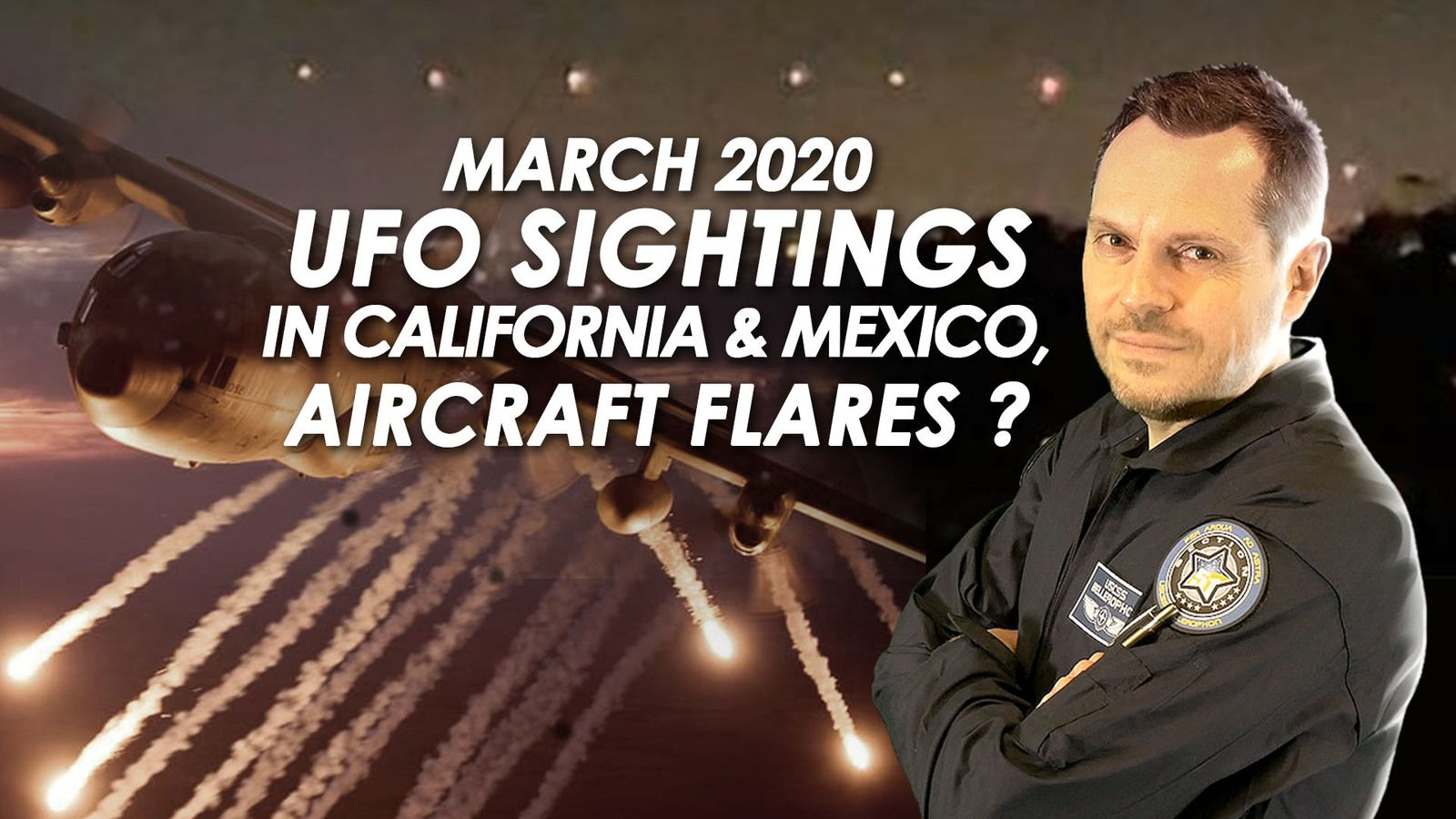 👽 Multiple UFO Sightings Reported in Southern California & Tijuana, Mexico - Aircraft Flares ?