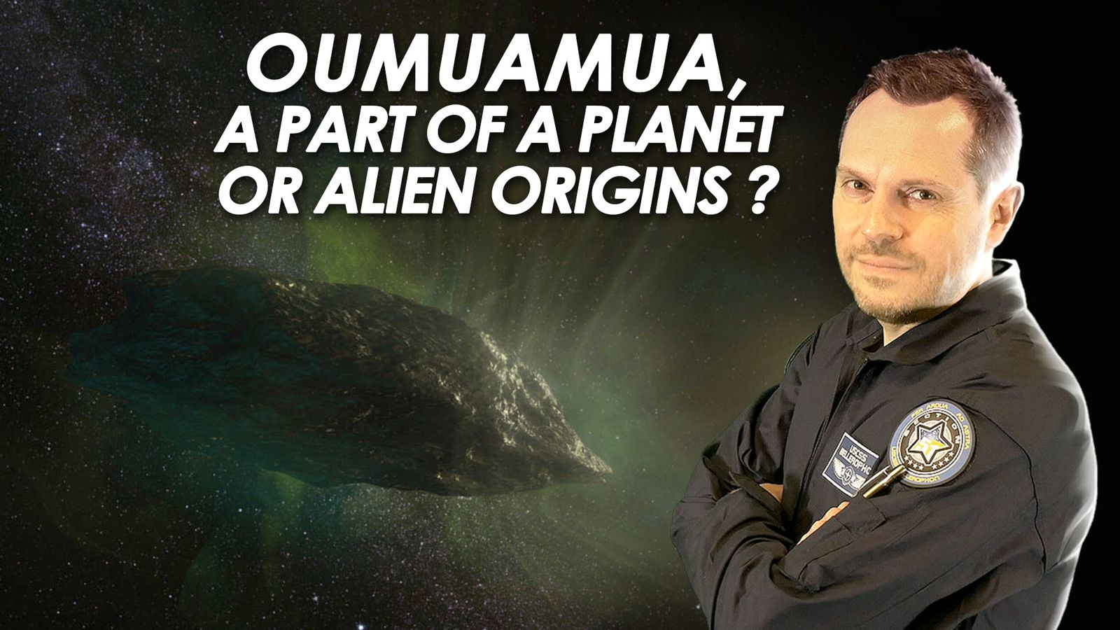 🌠 Was Oumuamua a Part of a Planet ?